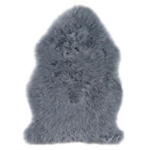 Sheepskin Grey Rug by Luxor Living