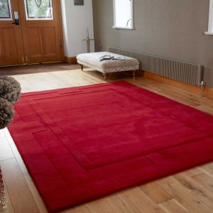 Sierra Apollo Red Rug By Flair Rugs