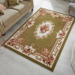 Sincerity Royale Dynasty Green Traditional Rug by Flair Rugs
