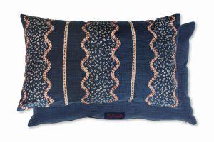 Strachen Indigo WYC00043X Cushion by William Yeoward