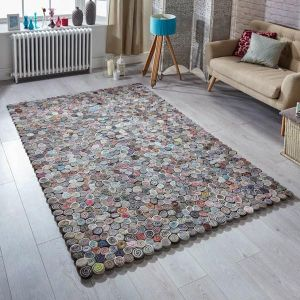 Sushi Multi Abstract Rug By Oriental Weavers 1