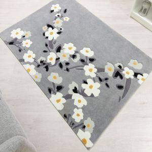 Tampa Largo Grey Rug by Flair Rugs