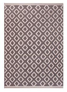 Terrace Diamond Grey Outdoor Rug by Ultimate Rug