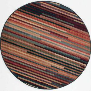 Theko Gabiro 1728-800 Multi Classic Circle Rug