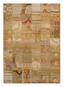 Theko Gabiro Mosaik 5504 Beige Classic Rug
