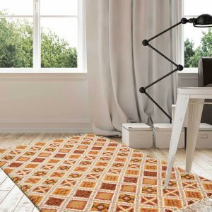 Theko Marmoucha 2-450 Terra Natural Wool Rug