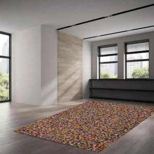 Theko Felty 2.2 UNI-802 Multicolor Young Fashion Wool Rug
