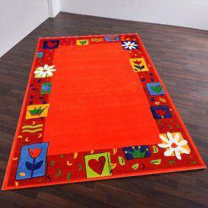 Theko Maui 3657 Orange Kids Rug