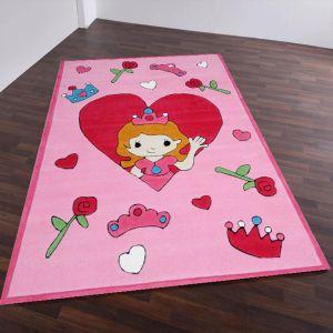 Theko Maui 4133 Rose Kids Rug