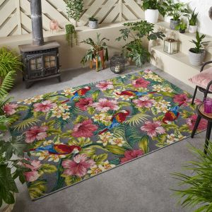 Tropicana 2E Floral Outdoor Rug by Oriental Weavers