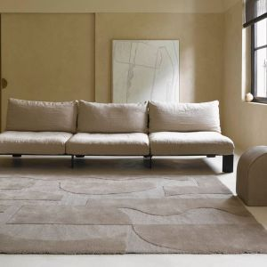 Twinset Mural Cement 121104 Abstract Rug by Brink & Campman