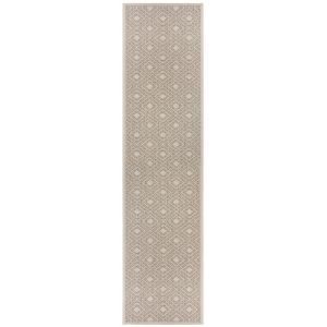 Varano Almada Natural Runner By Flair Rugs