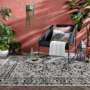 Varano Fuera Grey Rug By Flair Rugs