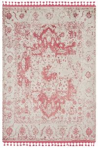 Vintage Red Traditional Rug by Katherine Carnaby