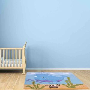 Unique Kids Whale Rugs by Prestige
