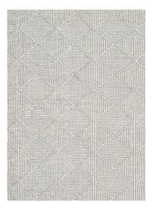 Zala Slate Geometric Rug by Claire Gaudion
