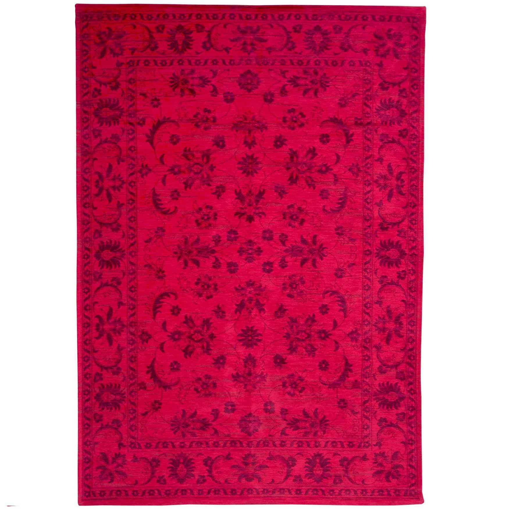 Keshan Cranberry 8034 Designer Luxury Rug Floral Rug Therugshopuk