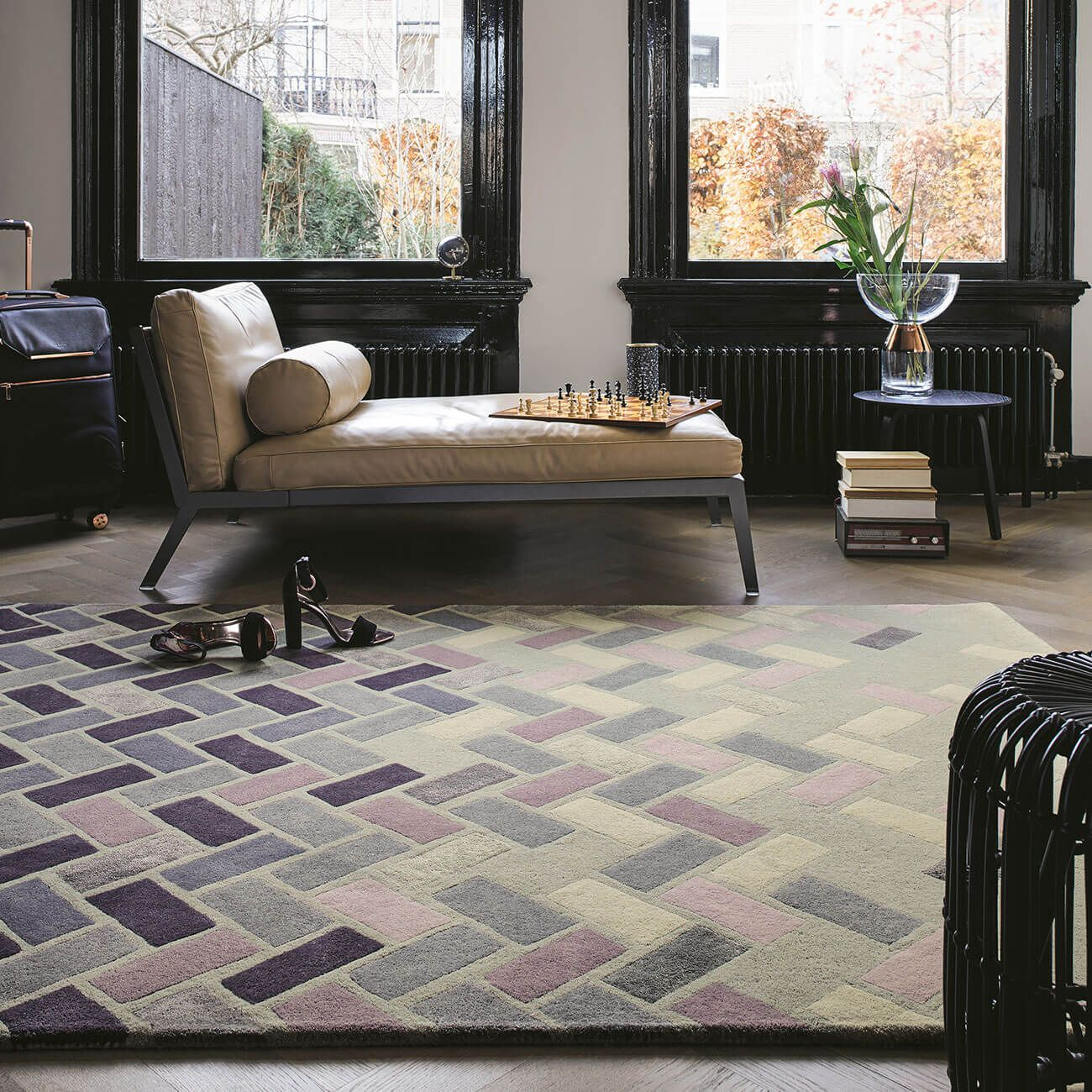 Buy Now Agave Ash 57104 Grey Hand Tufted Wool Rug Therugshopuk