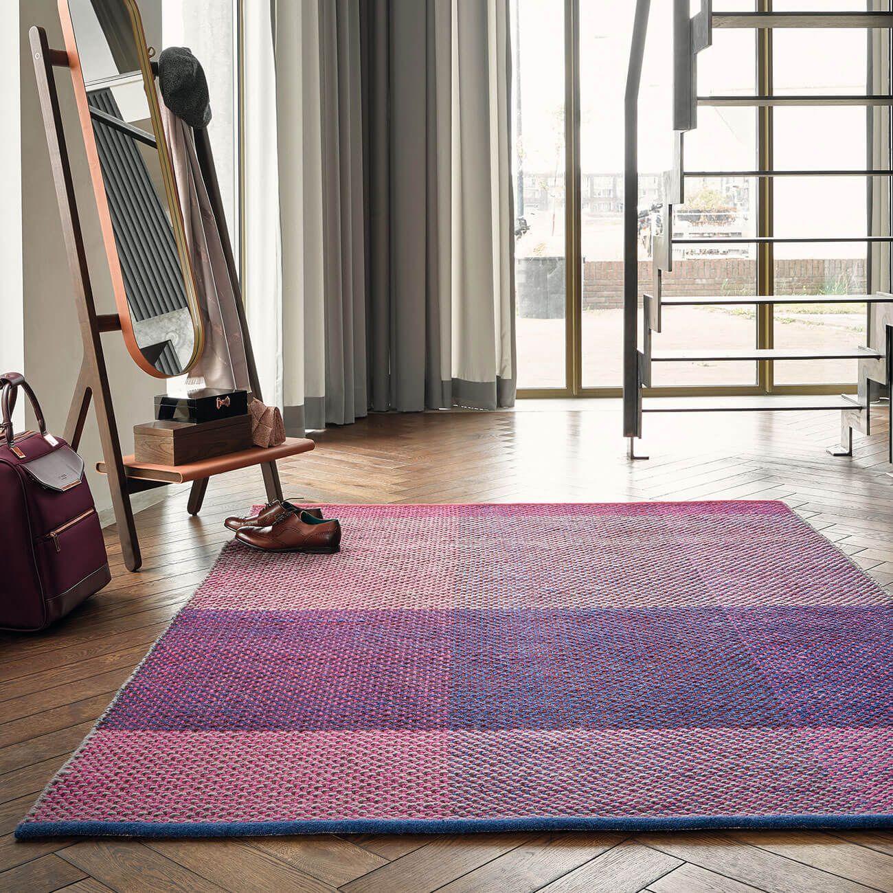 Purple Rugs Mauve Aubergine Rug Therugshopuk